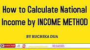 How to Calculate National Income by Income Method