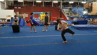 Zuyou's 540 kick
