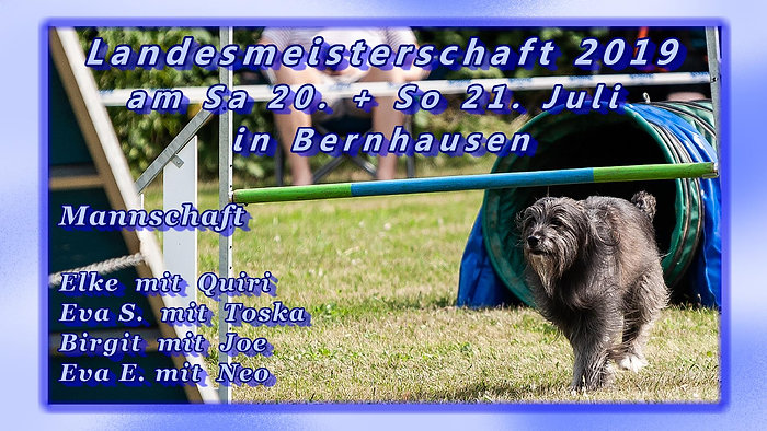20.+21. Juli 2019 Landesmeisterschaft in Bernhausen