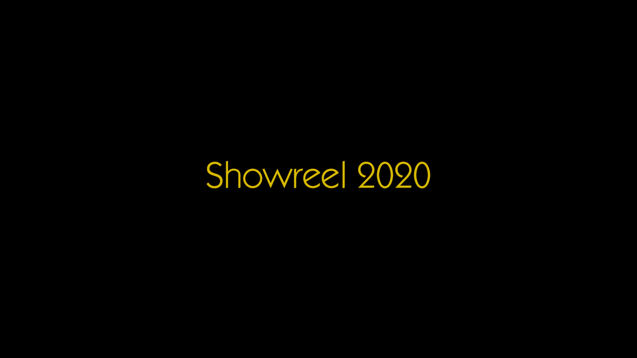 Showreel This Studio 2020