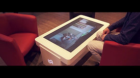 Table tactile interactive