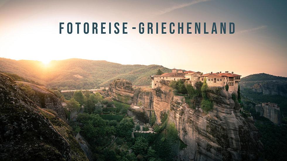 Fotoreise Griechenland