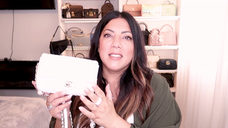 WHATS IN MY BAG | CHANEL PEARL FLAP BAG | Naomi Peris