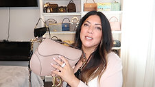 WHATS IN MY DIOR SADDLE BAG | Naomi Peris