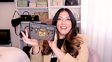 LOUIS VUITTON PETITE MALLE UNBOXING | Naomi Peris