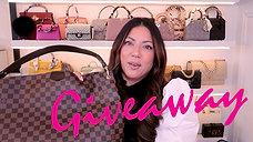 LV GRACEFUL BAG GIVEAWAY | Naomi Peris