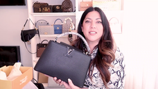 LV CAPUCINES with PYTHON HANDLE UNBOXING | Naomi Peris