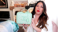 CHANEL MINT VANITY CASE BAG UNBOXING | Naomi Peris