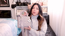 WHATS IN MY GREY LADY DIOR BAG | Naomi Peris