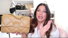 CHANEL 19 LARGE CAMEL / GOLD UNBOXING | Naomi Peris