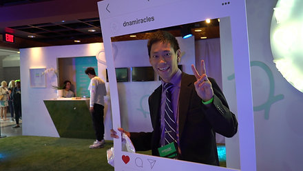 DNA Miracles Booth