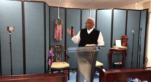 Morning Sermon Pastor Wilcher