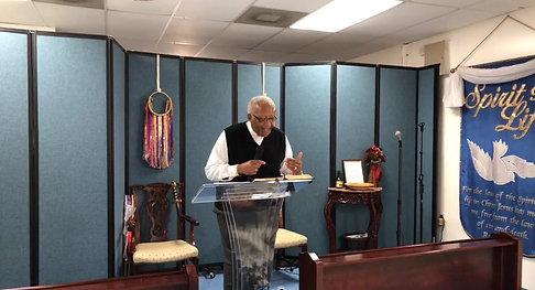 Pastor Edwin Wilcher Sept. 20, 2020