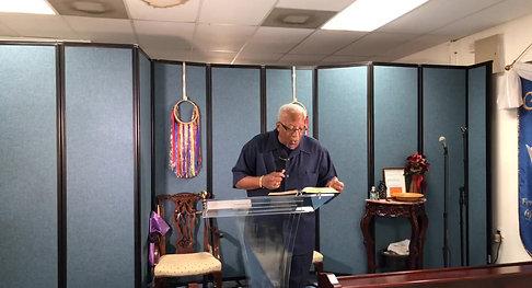 Pastor Edwin Wilcher