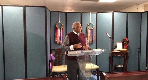 LICCCM Sunday Sermon Pastor Wilcher