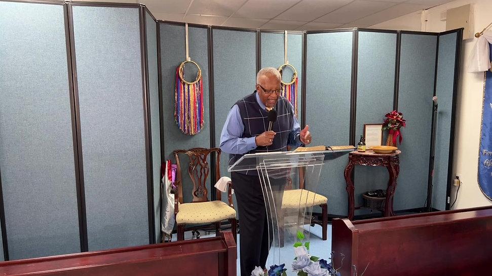 Pastor Edwin Wilcher Oct. 17, 2021