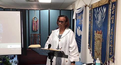 Pastor Nita Bible study 10/12/20