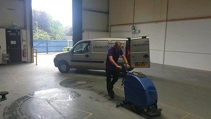 Industrial Cleaning Birmingham, Floor Cleaning