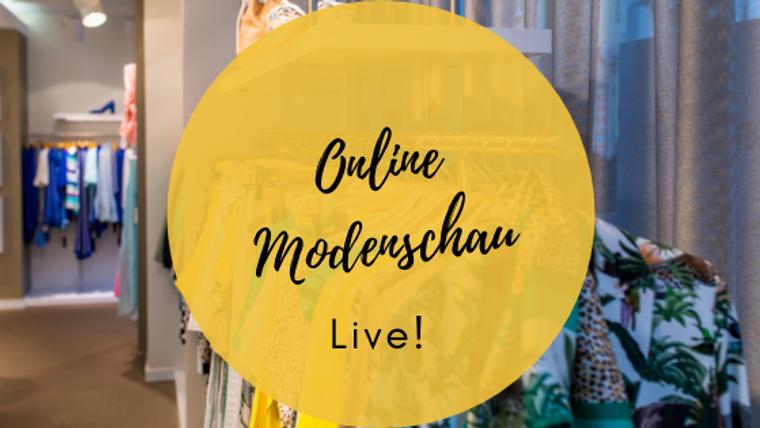 Die Online Modenschau