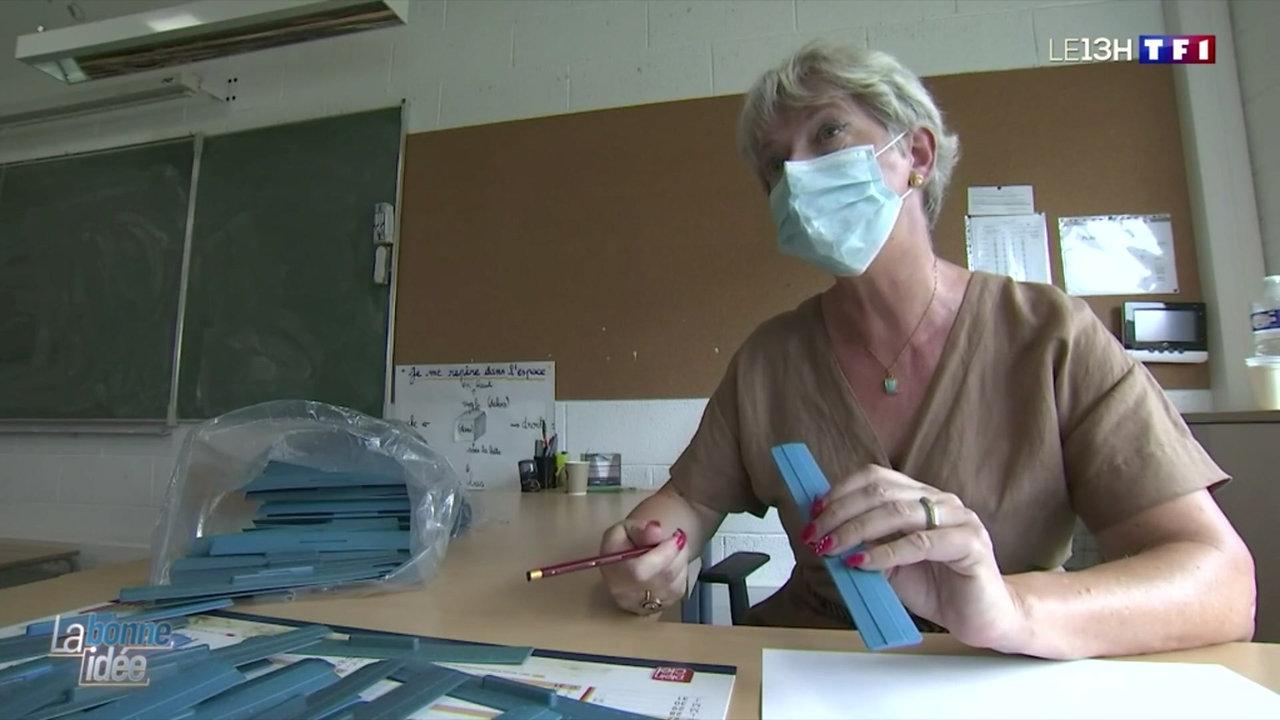 Une rentrée réussie avec des kits de géométrie en masques recyclés