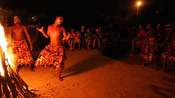 Siddi tribe performance in Gir, Gujarat