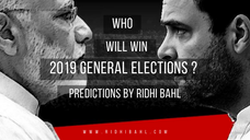 Astro Analysis of Loksabha Election 2019 predictions by famous Astrologer Ridhi Bahl