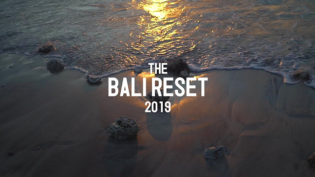 THE BALI RESET