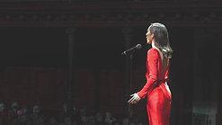 Claire Lyon - Australian National Anthem State of Origin 2015