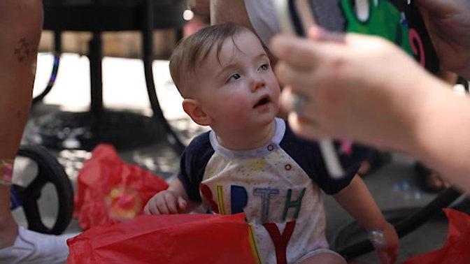 SAWYER OSBOURN FIRST BIRTHDAY