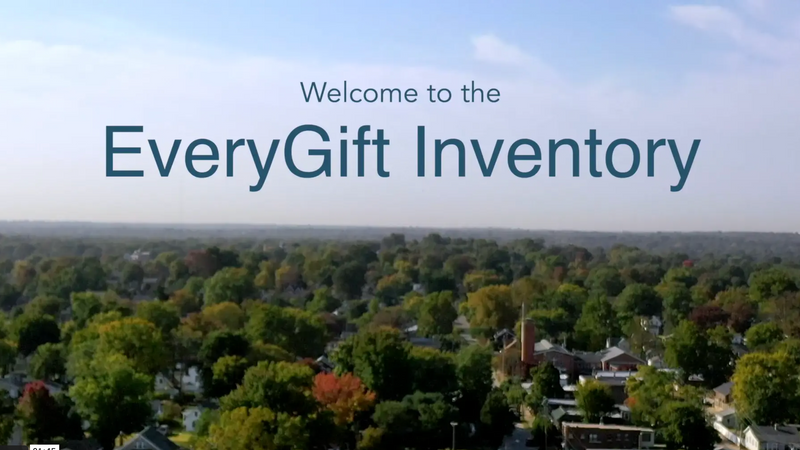Welcome to the EveryGift Inventory