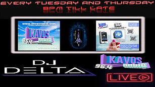 Kavos Radio  >> Saturday Night LIVE With DJ DELTA
