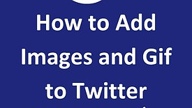 How to Add Images and Gif