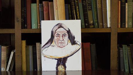 Gaze Mother Abbess David
