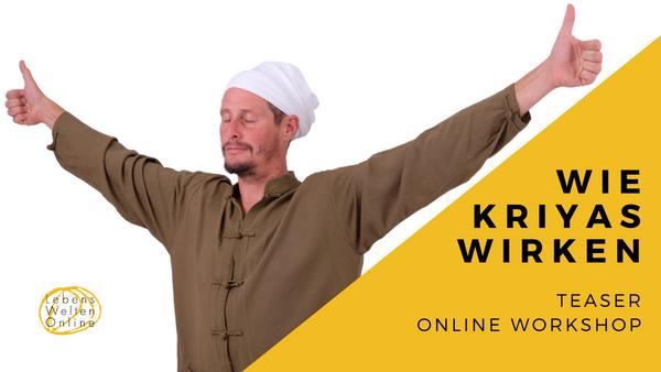 Wie Kriyas wirken   Online Workshop   Teaser