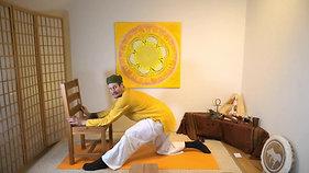 Yoga am Sessel   Fasten & Erdung