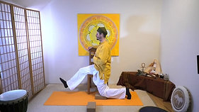 Yoga am Sessel   Verdauungsfeuer