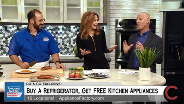 Appliance Factory & Mattress Kingdom Colorado & Company Kitchen reveal