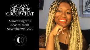 November Galaxy Chat November 9th, 2020