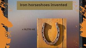 Horse Power in Human History using Emiliani's Holocene Era Calendar Reform Idea