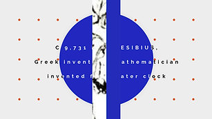 Humans invent clocks, Part A