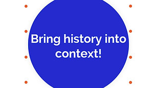 Follow the flow of history & events