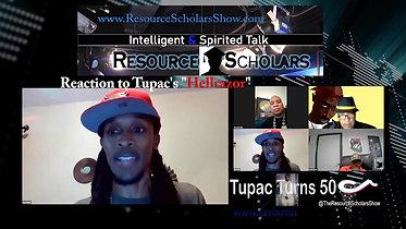 Tupac Show - Reaction to Hellrazor EXPLICIT LANGUAGE