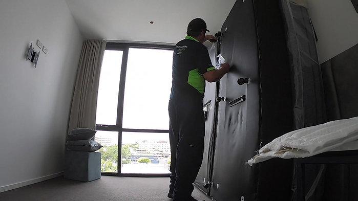 Hotel Bed Installation