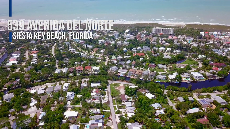 539 Avenida del Norte, Siesta Key Beach, Florida