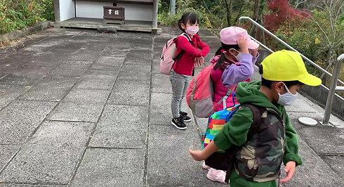 こども高取城登山 ラジオ体操