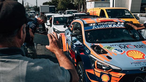 WE DRIVE THE CITY - FIA World Rally Championship