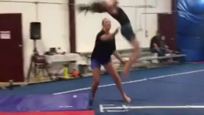Double Back Flip!!!!