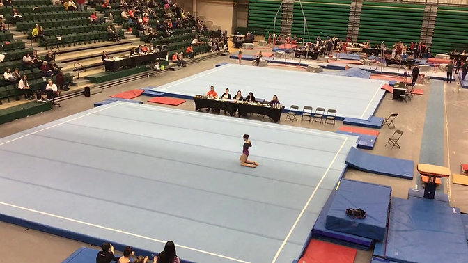 Provincial Champion Floor Routine