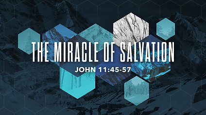 The Miracle of Salvation: John 11:45-57
