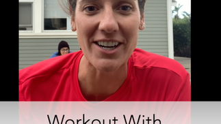 Workout with Olympian Kristy Kowal